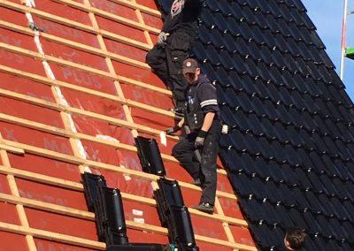 Dachneueindeckung, Flachdachneubau und Sanierung